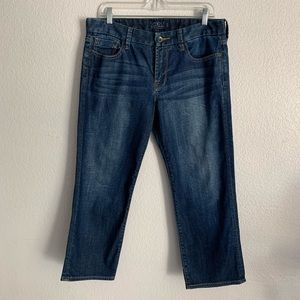 Lucky Brand | Sweet Jean Crop blue jeans 10/30